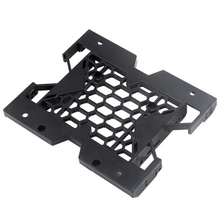 """5.25"""" To 3.5"""" 2.5"""" Bracket HDD Mounting SSD Cooling Fan Tray Hard Drive Case Adapter"""