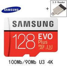SAMSUNG Memory Card 16G 32G 64G 128G 256GB 100Mb/s Micro SD Card Class10 U3 U1 4K Microsd Flash TF Card for Phone SDHC SDXC