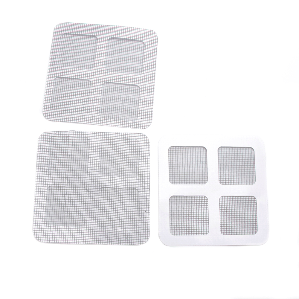 3X Anti-Insect Fly Bug Mosquito Screen Net Repair Tape Patch Adhesive 10×10(cm)