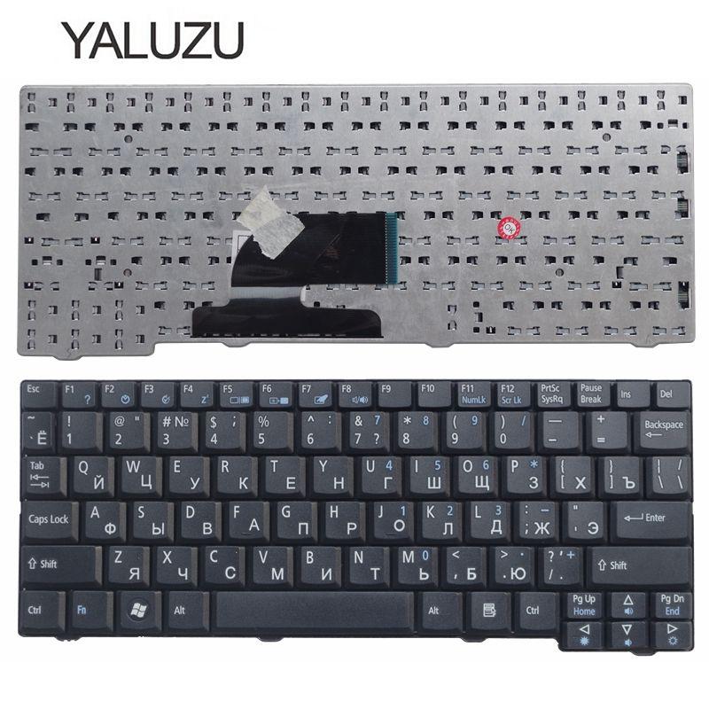 YALUZU Russian Keyboard For Acer Aspire One ZG5 D150 D210 D250 A110 A150 A150L ZA8 ZG8 KAV60 Emachines EM250 RU Keyboard