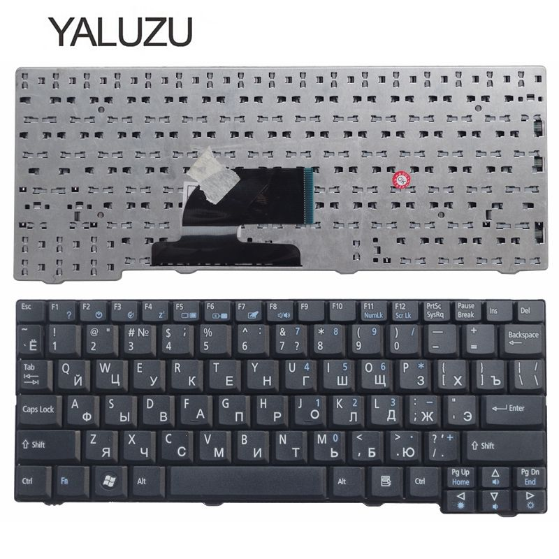 YALUZU Russian Keyboard For Acer Aspire One ZG5 D150 D210 D250 A110 A150 A150L ZA8 ZG8 KAV60 Emachines EM250 RU Keyboard