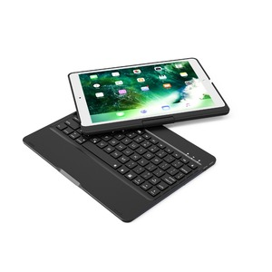 Image 3 - 360 Rotating Bluetooth 7 Colors Backlit Aluminum Keyboard Case Cover For iPad Air 12 2017 2018 9.7 10.2 10.5 2019 2020 8th gen