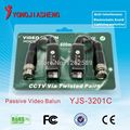 Camera Passive Video Balun Connector CCTV BNC UTP CAT5  Video Balun Twistered Pair Transceiver Cable 20PCS