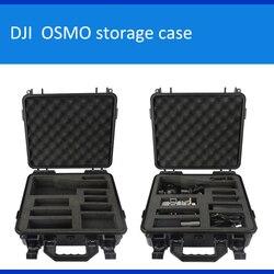 DJI Dajiang OSMO caso di immagazzinaggio portatile valigia scatola di protezione In Particolare personalizzato per OSMO impermeabile con rivestimento in schiuma strumento caso