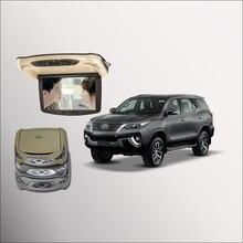 Bigbigroad для автомобиля toyota fortuner Устанавливаемые на крышу в автомобиль светодиодный цифровой Экран Поддержка HDMI USB FM ТВ игры ИК удаленного флип Подпушка DVD