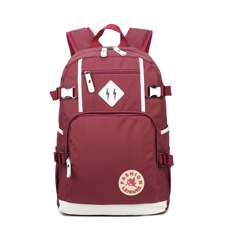 2017 New Casual backpack Oxford cloth Students School Bags female 14-inch Laptop Backpacks Teenagers Travel Mochila woman bag ozuko brand men travel backpack 2018 new style casual school bag for teenagers 14 15 inch laptop masculina shoulder bags mochila