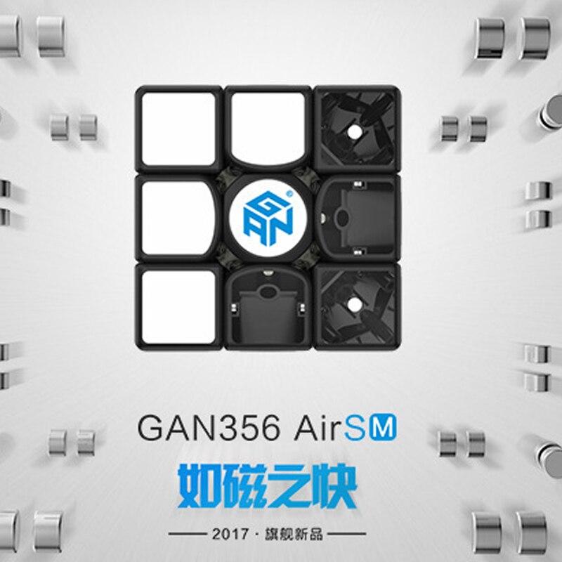 GAN 356 Air SM v2 Maître casse-tête magnétique magique vitesse cube 3x3x3 professionnel gans cubo magico gan356 aimants jouets pour enfants