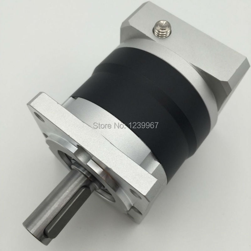 Ratio 10:1 Planetary Reducer for NEMA24 Servo Motor 60mm Planetary Gearbox for Servo Stepper Motors New nema24 servo planetary gearbox 5 1 backlash