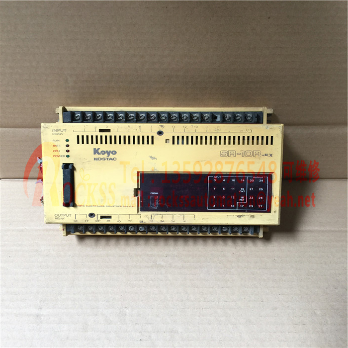 Koyo PLC SR-10R-EX Used Good Condition With Free DHL / EMS 1pc used guangyang koyo u 8adc 1
