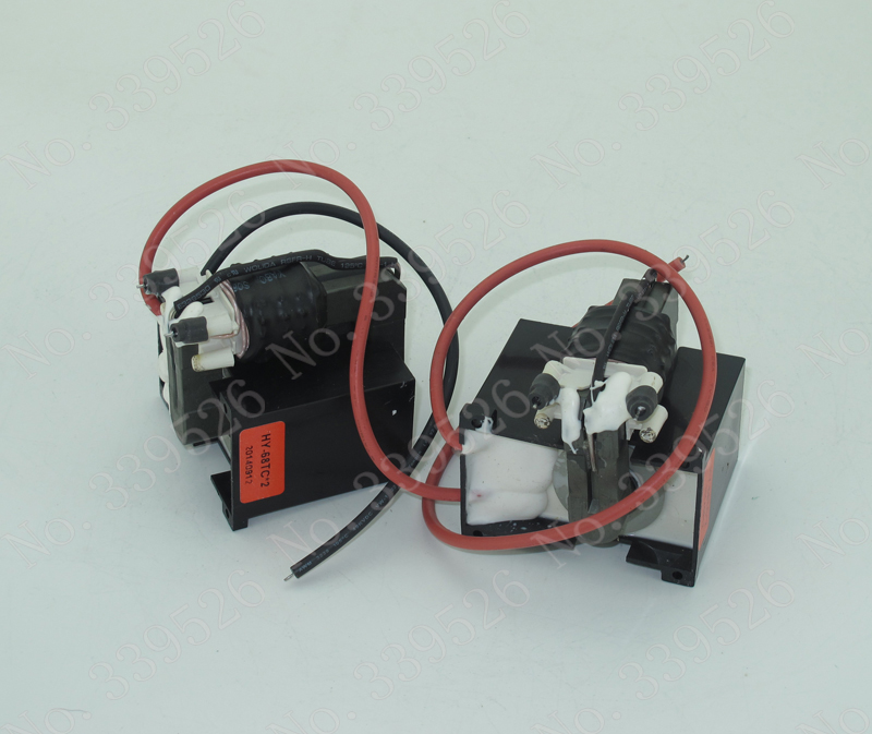 high voltage transformer /coil /flash  back for 80w yueming power supply high voltage flyback transformer for co2 50w laser power supply