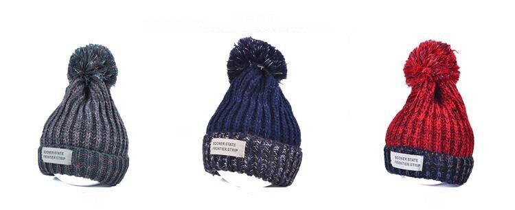 قبعة صوف دافئة نسائية 5