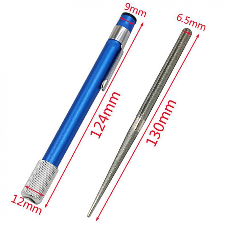 1 pçs portátil profissional caneta de aço