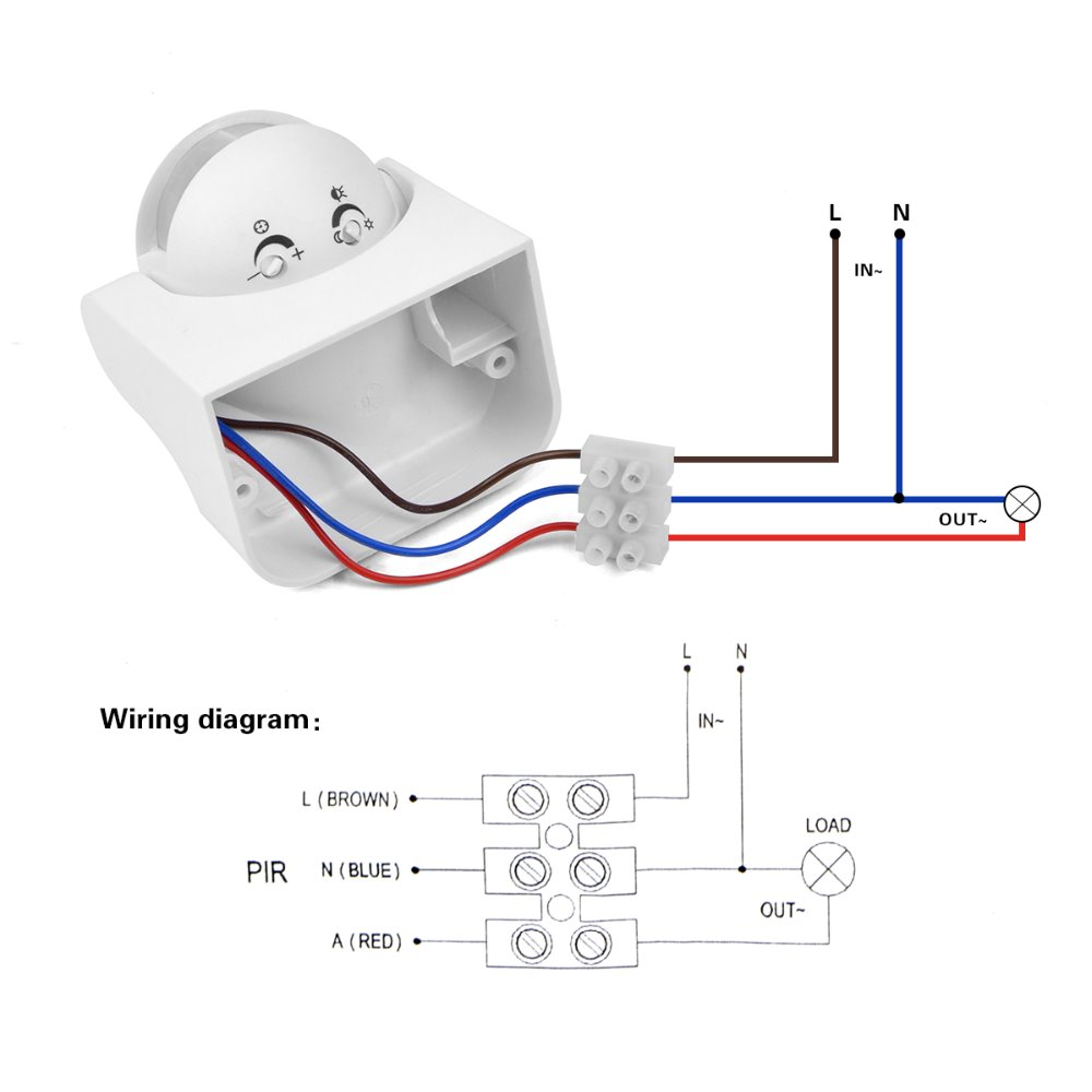 hight resolution of bosch motion detector wiring diagram motion sensor wiring diagram brown red blue wiring diagramsrh