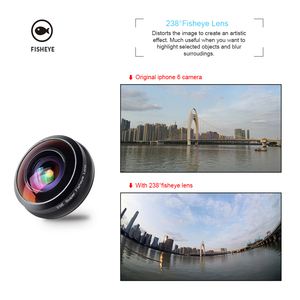 Image 4 - Apexel ユニバーサル魚眼レンズ 238 度スーパーフィッシュアイ 0.2X フルフレーム広角レンズ iphone × 7 8 6 6 s プラス xiaomi redmi