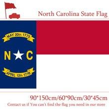 Free shipping North Carolina State Flag 3*5 Feet America 30*45cm Car Flag 90*150cm 60*90cm Flag north carolina adjutant general s dept register of north carolina troops