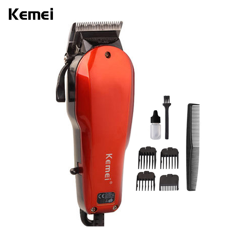 Hot sale Rechargeable Washable Electric Hair Trimmer Clipper Tools Haircut Hair Cutting Machine Barber child baby Adult KM-9012