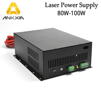 High Quality 80W To 100W CO2 Laser Power Supply for CO2 Laser Engraving Cutting Machine