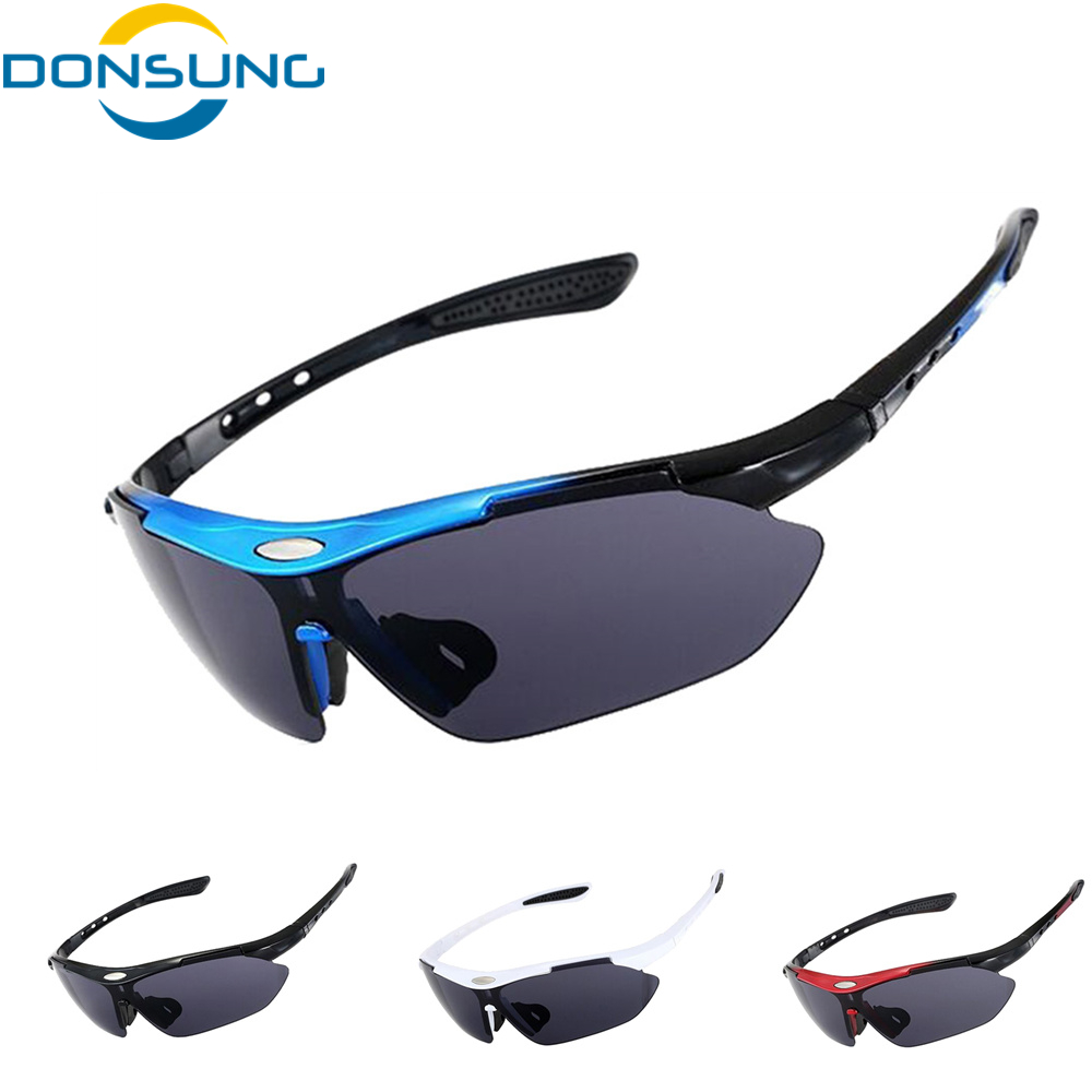 DONSUNG Outdoors Sports Cycling Bicycle Bike Riding Mens SunGlasses Eyewear Women Goggles Glasses UV400 Lens Oculos Ciclismo