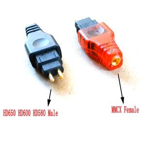 Image 2 - Haldane Hoofdtelefoon Plug voor HD525 HD545 HD565 HD650 HD600 HD580 Male naar MMCX Vrouwelijke Converter Adapter