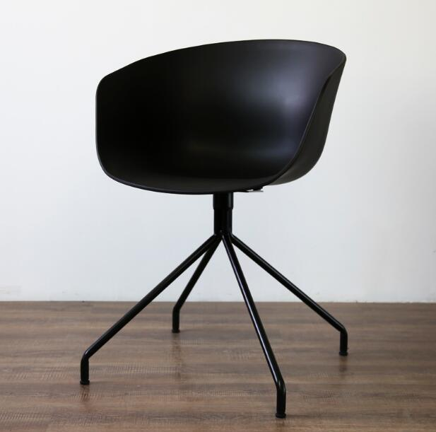 YINGYI Hot Selling Modern Metal Dining Chair With Arms