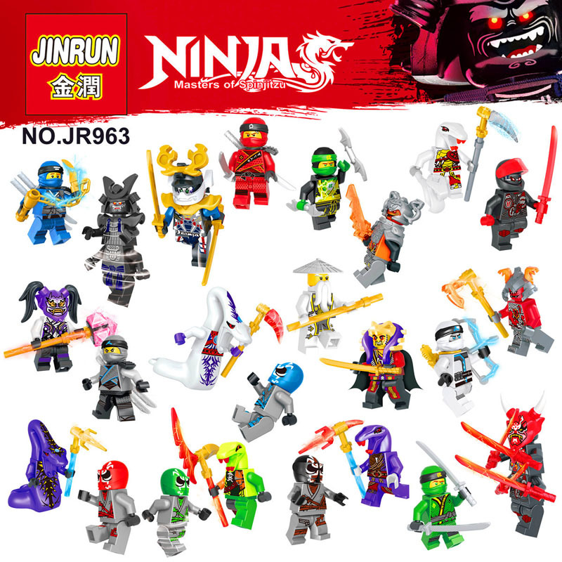 Single sale font b Ninja b font Motorcycle Building blocks bricks Kai Jay Zane Nya Lloyd