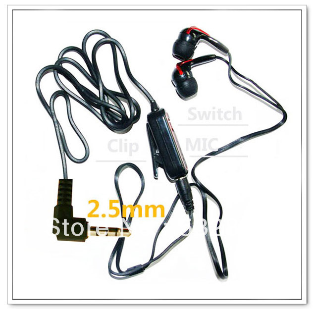 Red Stereo Headset Handsfree Earphone For Motorola A1200 A1200E A1208 A1210 A768