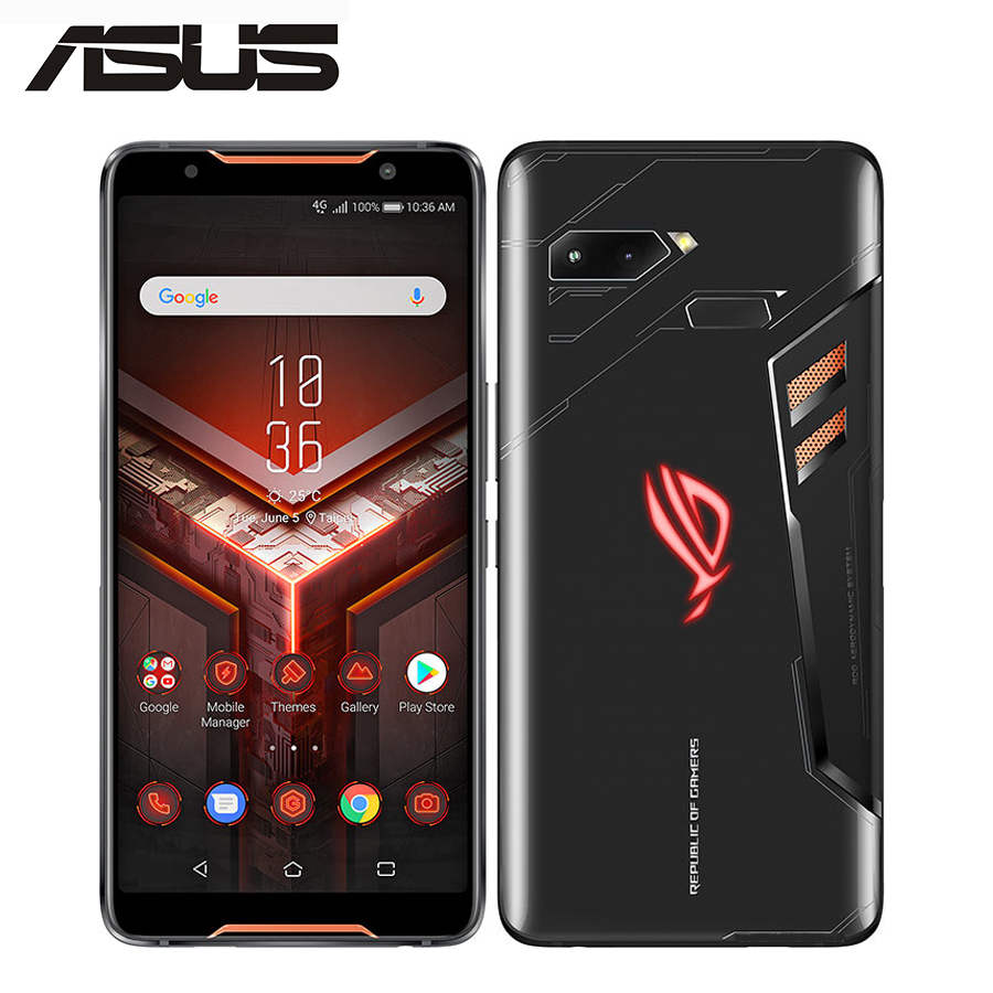 Global ASUS ROG téléphone ZS600KL téléphone de jeu 8 GB 128 GB/512 GB 3 caméra 4 K UHD 6.0