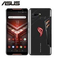 ASUS ROG Phone ZS600KL игровой телефон 8 Гб 128 ГБ/512 ГБ 3 камеры 4 к UHD 6,0 экран Snapdragon 845 OctaCore 4000 мАч Android 8,1