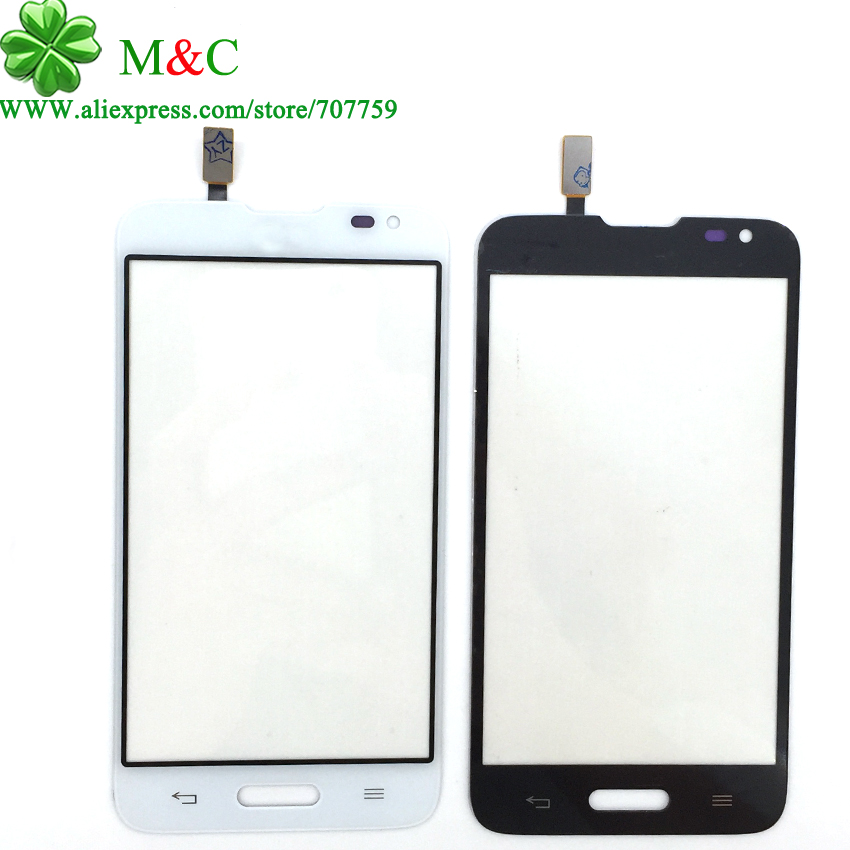 Shop707759 Store 10pcs Original D320 Touch Panel For LG Series III L70 D320 Touch Screen Digitizer Glass Lens (Single sim card) With Tracking
