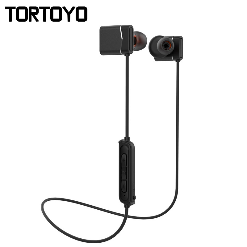 Magnetic Wireless Bluetooth CSR Earphone Handsfree Neckband Sports Earbuds for iPhone Xiaomi Stereo Bass Earpods Double Battery remax t9 mini wireless bluetooth 4 1 earphone handsfree headset for iphone 7 samsung mobile phone driving car answer calls