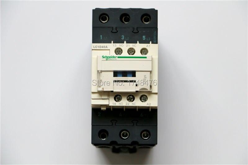 ФОТО TeSys D Contactor 3P 40A LC1D40A LC1D40AY7 LC1-D40AY7 690V AC 690VAC
