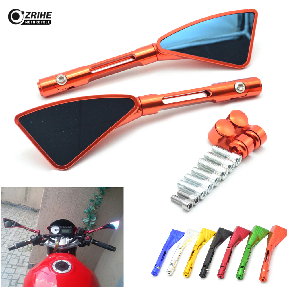 Motorcycle Rearview Mirrors Sports Glass Rear View Side Mirror for SUZUKI GSX-S750 GSX-S GSX 650F 1000 1250 1400 sv650 sv650s