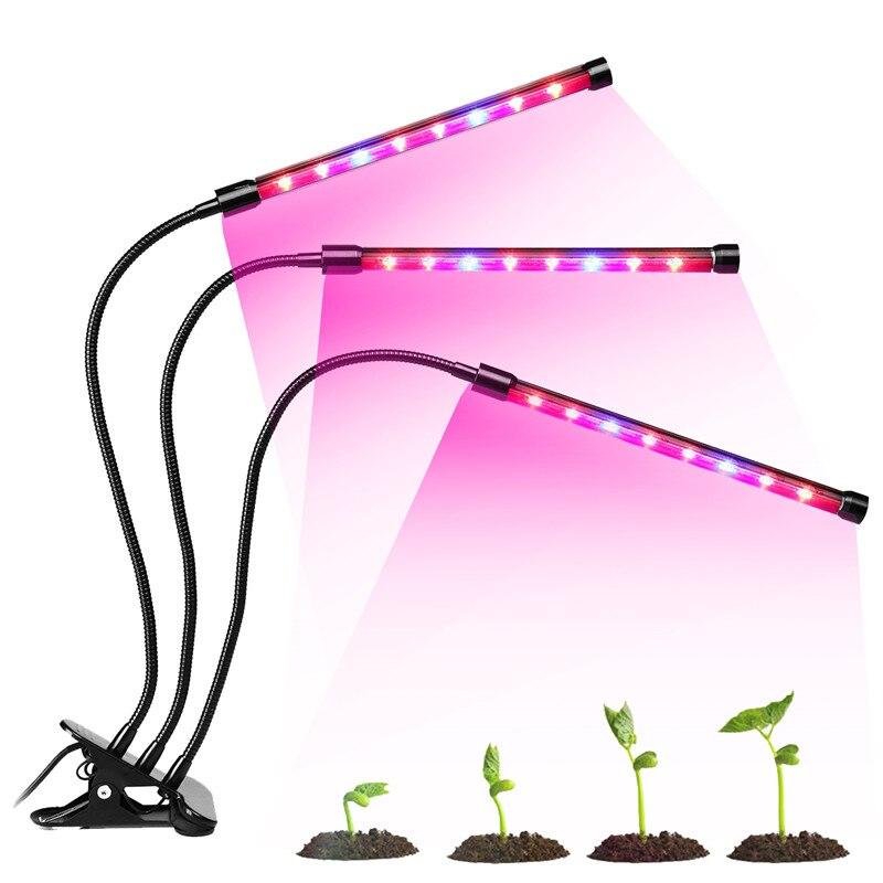 LED réglable 36 W élèvent la lampe de Phyto de spectre complet de LED de Fitolampy de lumière avec le contrôleur pour la serre végétale de plante de fleur