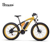 Высококачественный электрический велосипед 500 Вт, 26*4,0 Fat Tire, 21 скоростной Снежный велосипед, гидравлический дисковый тормоз, 5 уровня педале