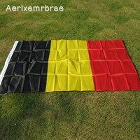 무료 배송 aerlxemrbrae flag 그레이트 벨기에 깃발 깃발 5 * 3ft 90*150cm 벨기에 국립 polyster 벨기에 배너