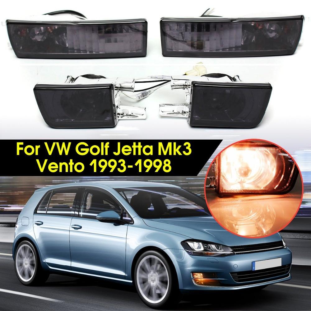 12V Smoke Lens Car Fog Light 21W Front Turn Signal Light Lamp For VW/Golf/Jetta Mk3 1993 1994 1995 1996 1997 1998 1998 golf 3 td 2011