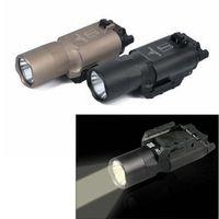New Tactical flashlight X300 X300U LED Weapon Light Handgun fits 20mm picatinny rail for hunting for shooting ht230