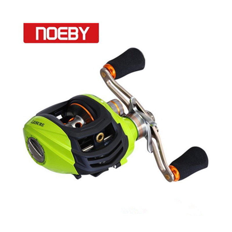 NOEBY Baitcasting Reel 6.3:1 10+1BB Left Right Hand Fishing Line Winder Pesca Carretilha e Molinete Fishing Reels Coil noeby baitcasting reel 11bb 6 3 1 bait casting lure fishing wheel right left hand max drag 5kg molinete carretilha de para pesca