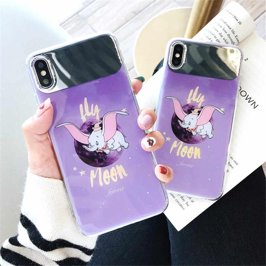 Роскошный блеск держатель из горного хрусталя чехол Kitty духи сердце любовь прозрачный мягкий телефонные чехлы для iPhone 5 5S 6 6S 6plus 7 8 плюс X XS XR