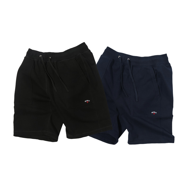 Newest Noah Shorts Men Women Cross Embroidery Streetwear Summer Beach Short Kanye West Heron Preston Noah Vetements Shorts