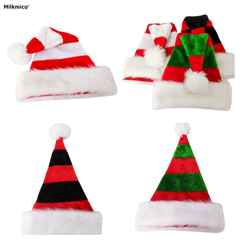 2017 Adult Christmas Decoration New Style Merry Christmas Hats Home Bar Party Perform Porps For Xmas Gifts Supplies