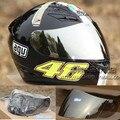 free shipping K3 K4 VISOR FULL FACE MOTORCYCLE HELMET LENS FACE SHIELD Racing Colors Black clear Silver Rainbow  helmet viler