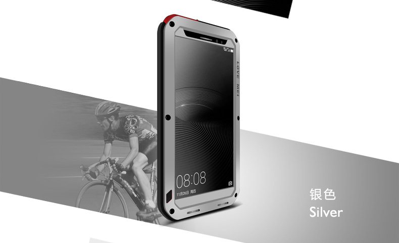 the latest a5103 fb1b8 US $31.11  Love Mei Shockproof Case for Huawei Mate 8 Life Waterproof Armor  Metal Case Cover for Huawei Mate 8 Tempered Glass Protector-in Fitted ...