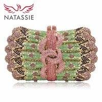 June 2016 New Women Luxury Crystal Clutch Handbag Rhinestone Evening Bag Wedding Clutch Purse Party Bag