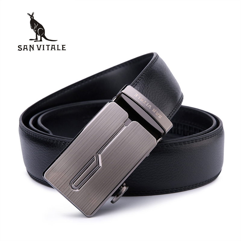 Men's Genuine Leather Belt Designer High Quality Belts Men Luxury Male Straps For Men Fashion Automatic Buckle Belts For Jeans