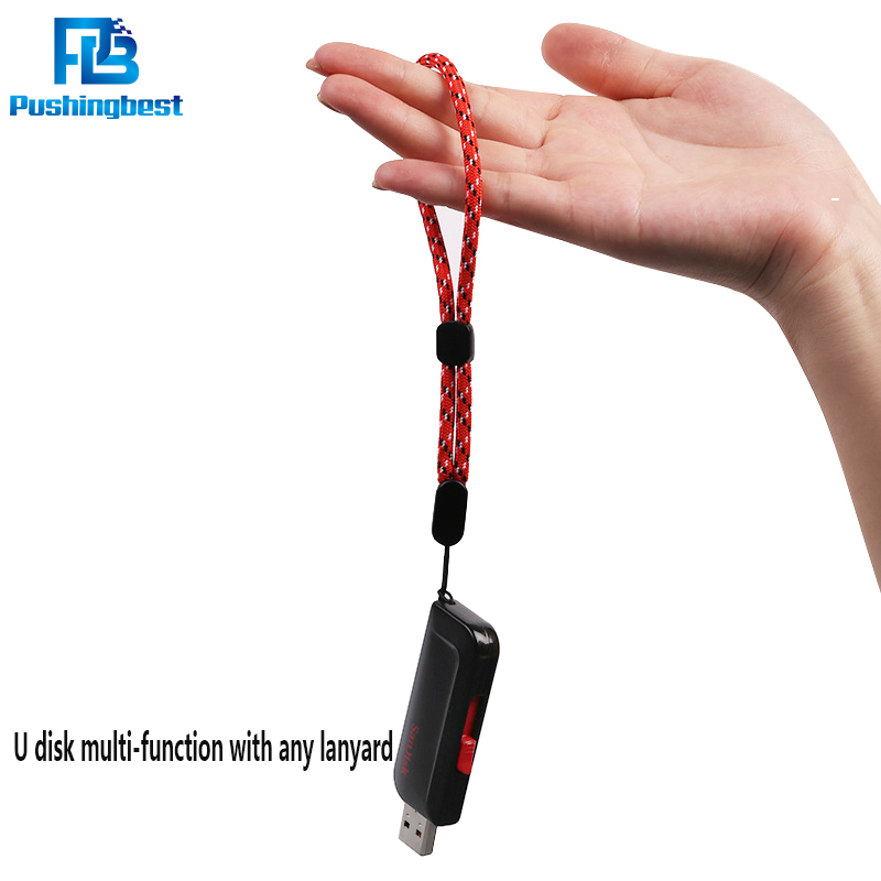 Pushingbest Phone Lanyard Strap for ID Pass Card USB Holder