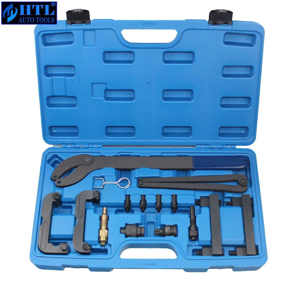 Timing Belt Locking Tool Kit For VW Audi 2.4 2.8 3.2 4.2 3.0T Touareg Q7 T40133 T40070 A6L Engine Camshaft Alignment Tool utool engine camshaft crankshaft locking alignment timing tool kit for audi a2 a3 a4 a6 a8 2 4 3 2l v6 fsi t40070 t40069 t10172