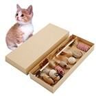 the Uitimate Cat Toy Collection False Mouse interactive Mini Funny Mice & Animal Playing Toys Bird Feather Toys Gift Box