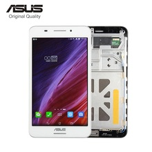 For ASUS Fonepad 7 FE375 FE375CG FE7530CXG ME375 K019 LCD Display Monitor Touch Screen Digitizer Assembly with frame