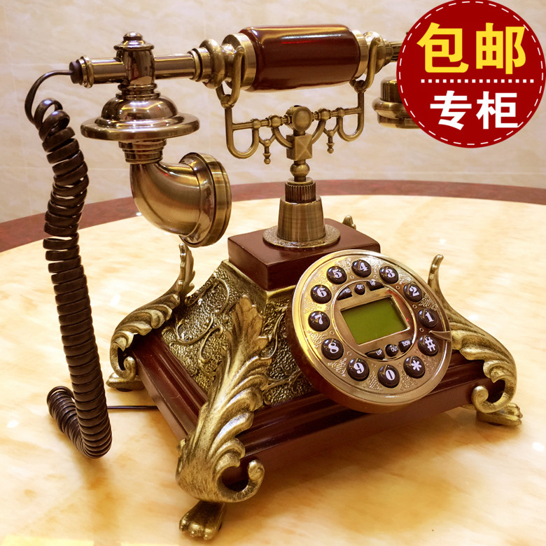 European American retro Dong antique telephone office household telephone landline are fixed corded phone ringing tones